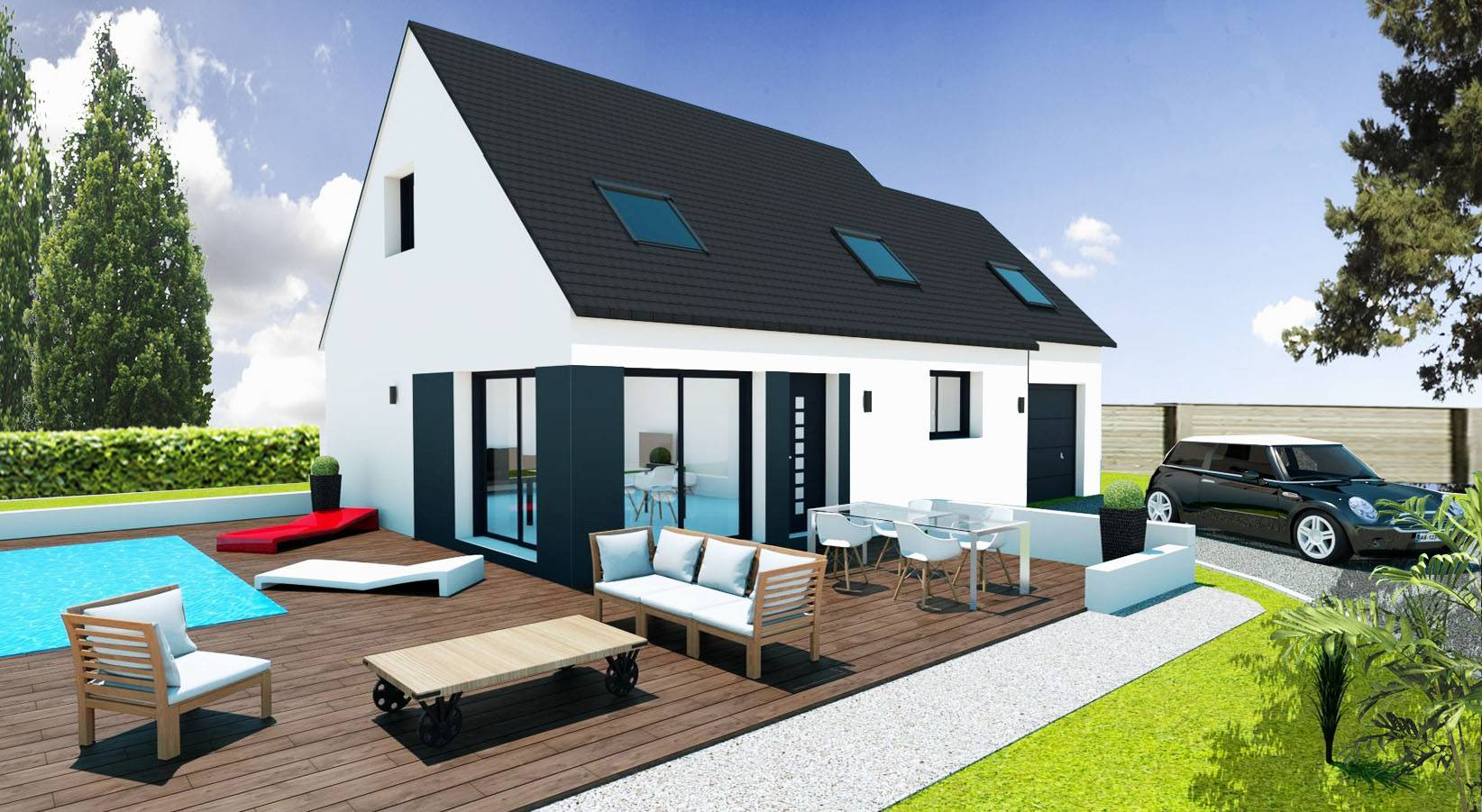Votre maison en 3d avec les maisons pep 39 s maisons pep 39 s for Construire sa cuisine en 3d