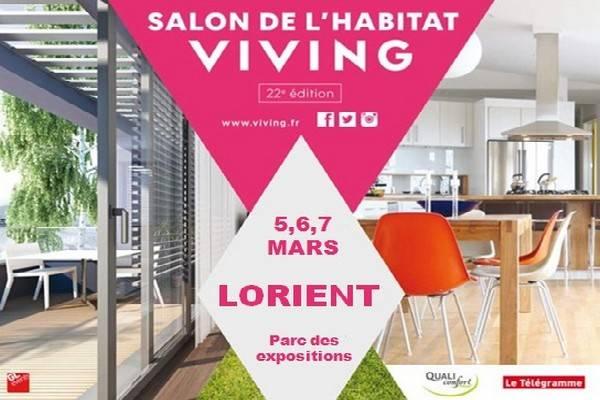 Salon de l 39 habitat lorient du 5 au 7 mars 2016 for Salon de maison 2016