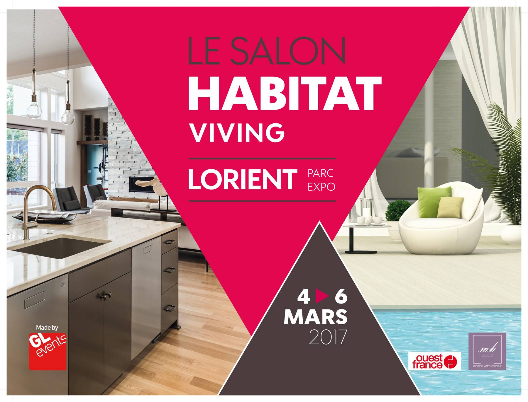 Salon viving habitat lorient 4 5 et 6 mars 2017 for Salon de l habitat a vannes 2017