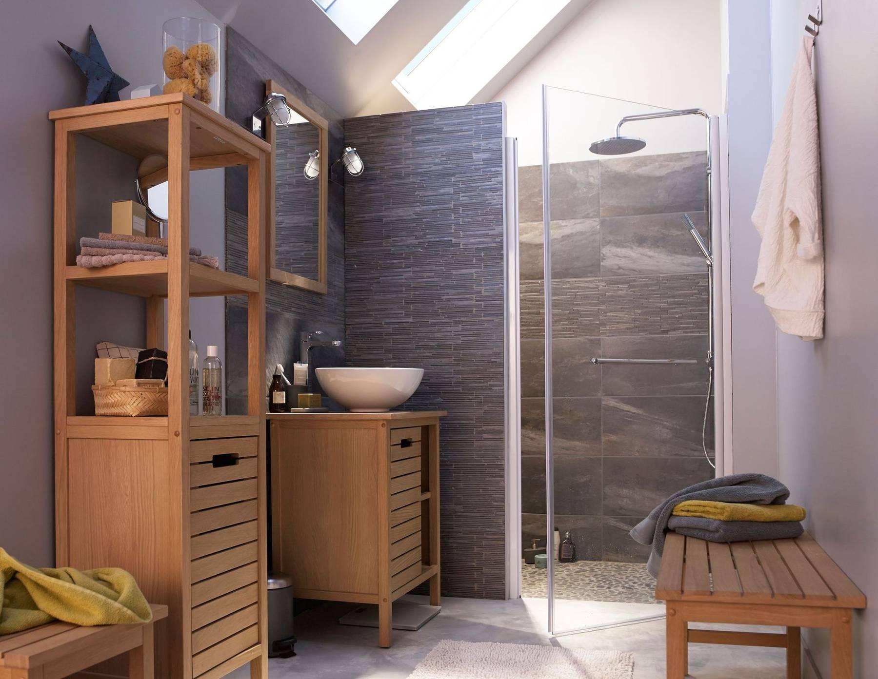 appliques salle de bains verre et metal chrome castorama 5510101 maisons pep 39 s. Black Bedroom Furniture Sets. Home Design Ideas
