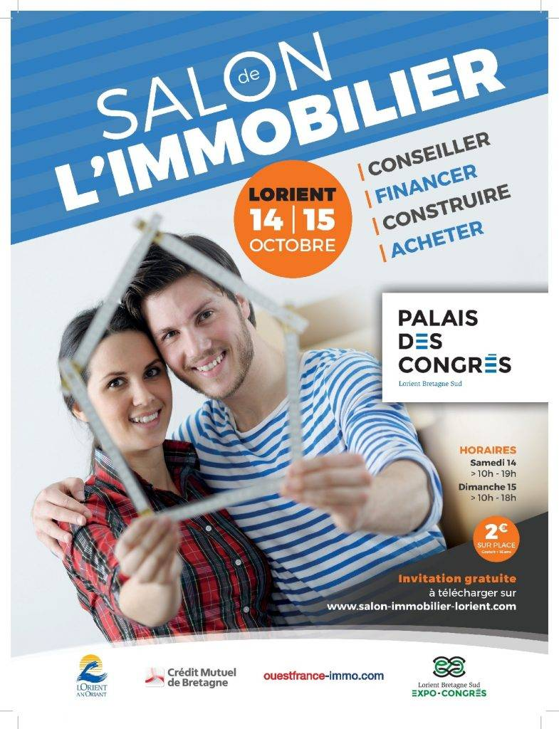 Salon de l 39 immobilier lorient 14 et 15 octobre 2017 for Salon de l habitat lorient