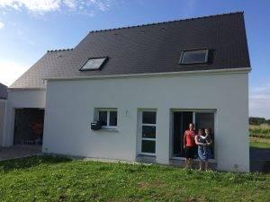 maison 4 chambres - maison peps - plouhinec